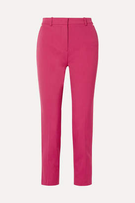 Emilio Pucci Wool-twill Tapered Pants - Pink