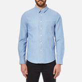 A.P.C. Men's Chemise Kansas Shirt Indigo Delave