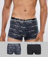 Calvin Klein Trunks 2 Pack ID Cotton