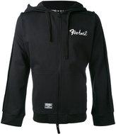 Kokon To Zai inside out backless hoodie - men - Cotton - S