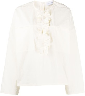 Christian Wijnants Tayla ruffled blouse