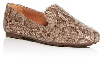 Kenneth Cole Gentle Souls by Women's Eugene Snake-Embossed Smoking Slippers