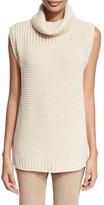 Iris von Arnim Knit Cashmere Turtleneck Sweater, Sand