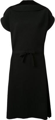 Issey Miyake Oversized Pleated Dress