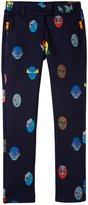 Stella McCartney Rocky Printed Pants (Toddler/Kid) - Blue-2