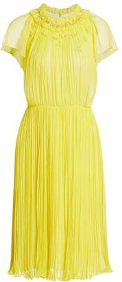 Jason Wu Collection Silk Crinkle Chiffon Dress