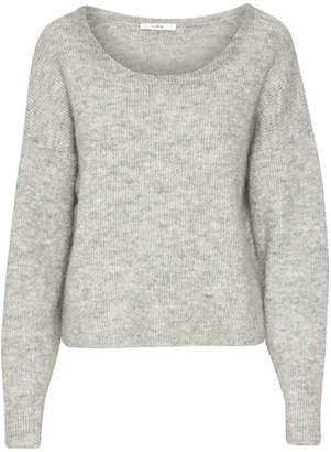 Gestuz Livia Pullover in Light Grey Melange - XS - Grey