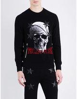 Philipp Plein Skull-print Knitted Jumper