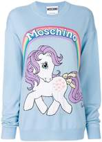 Moschino My Little Pony intarsia jumper
