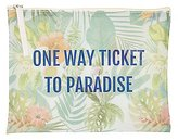 Charlotte Russe Ticket To Paradise Zip Pouch