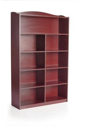 Guidecraft 9-Shelf Bookshelf - Cherry