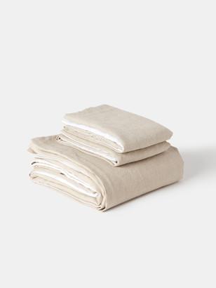 Morrow Soft Goods Verishop Exclusive Two-Tone Duvet Set