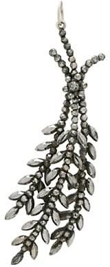 Stephanie Windsor Victorian Cut-Steel Silver Charm