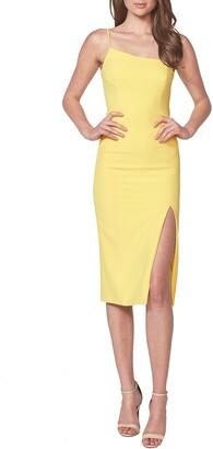 Bardot Suzana One-Shoulder Cocktail Dress