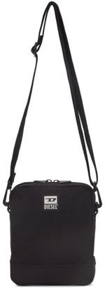 Diesel Black Altario Messenger Bag