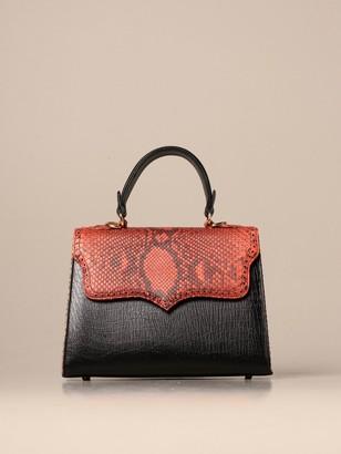 Tari' Rural Design Ab4 Tarigrave; Rural Design Bag In Python Leather