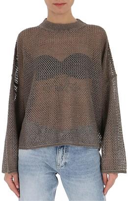 See by Chloe Crochet Logo Sweater