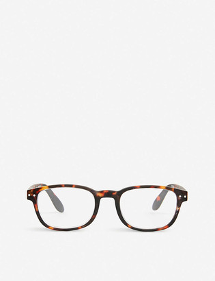 IZIPIZI #B tortoise reading glasses +1.00