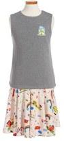 Dolce & Gabbana Toddler Girl's 'Grigi' Print Dress
