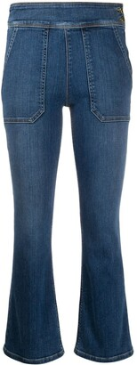 Frame Le Francoise mid rise cropped jeans