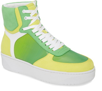 Jeffrey Campbell Court-Hi High-Top Sneaker