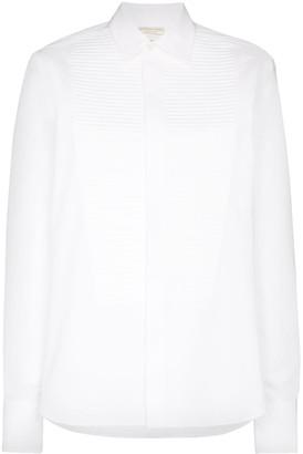 Bottega Veneta Pleated-Bib Shirt