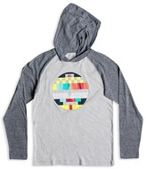 Quiksilver Boys' Geo Circle Slubbed Hooded Pullover - Sizes 8-20