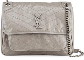 Saint Laurent Niki Monogram Large Flap Shoulder Bag