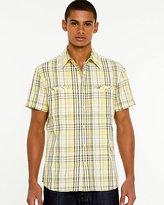 Le Château Plaid Short Sleeve Shirt