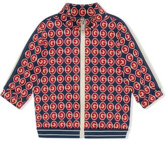Gucci Kids Round G zipped jacket