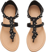 H&M Sandals with Flowers - Black - Kids