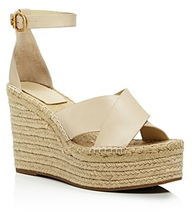 Tory Burch Women's Selby 105 Wedge Espadrille Sandals