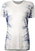 IRO 'Gella' T-shirt - women - Linen/Flax - L
