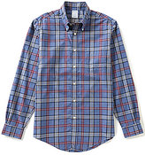 Brooks Brothers Non-Iron Tartan Regent-Fit Long-Sleeve Woven Shirt