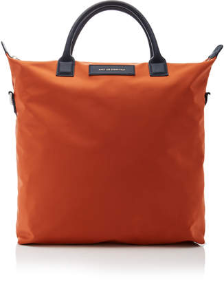 WANT Les Essentiels O'Hare Leather-Trimmed Shell Tote