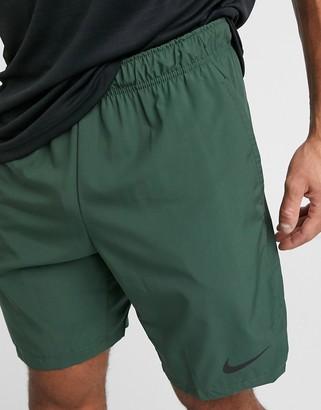 Nike Training Flex 3.0 woven shorts in khaki