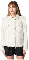 Blank NYC Denim Trucker Jacket (Head in The Clouds) Women's Clothing