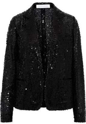 Victoria Beckham Sequined Tulle Blazer