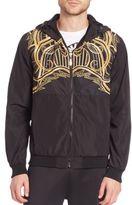 Versace Lightweight Zip-Front Jacket