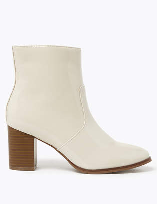 Marks and Spencer Block Heel Ankle Boots