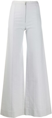 Emanuel Ungaro Pre-Owned 1970's Flared Trousers