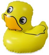 Kel Gar Inflatable Ducky Faucet Cover & Bubble Bath Dispenser
