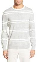 Grayers Men's 'Shore Club Stripe' Crewneck Sweater