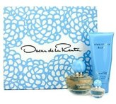 Oscar de la Renta Something Blue Coffret: Eau De Parfum Spray 50ml/1.7oz + Body Lotion 100ml/3.4oz + Eau De Parfum Miniature 4ml/0.13oz -