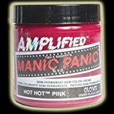Manic Panic AMPLIFIED Semi Permanent Hair Dye Colour Cream - Hot Hot Pink 118ml by