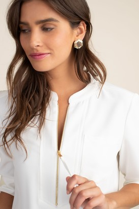 Trina Turk Geo Stud Earring