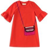 Kate Spade Girls' Trompe L'Oeil Bag Dress