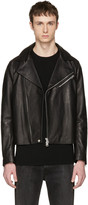 Acne Studios Black Leather Axl Jacket