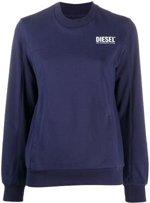 Diesel Victorial logo print sweatshirt