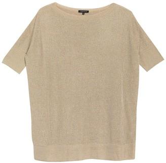 Lafayette 148 New York Shimmer Short Sleeve Tunic Sweater
